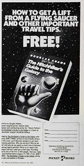 Magazine add for the first book (John Chanaud) Tags: thehitchhikersguidetothegalaxy
