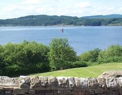 Kielder Water (Tom Burnham) Tags: uk northumberland kielder reservoir sailingboat hills