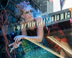 """""""Lights Up a Young Mind"""" Bloomingdales Holiday Window Display, New York City (jag9889) Tags: windowdisplay jag9889 usa color manhattan bloomingdales reflection newyork outdoor 2016 christmas holiday light uppereastside text mannequin woman newyorkcity window artwork neon display 20161128 art chandelier bloomies departmentstore flagship lexingtonavenue ny nyc store storewindow ues unitedstates unitedstatesofamerica us gift water"""