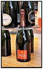 Bottles of Champagne. (441K9) Tags: bottles champagne st pancras london