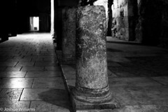 DSCF9683 (Joshua Williams' Photography) Tags: jerusalem israel bw night oldcity