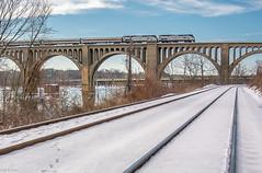 (i nikon) Tags: amtrak james river bridge richmond va