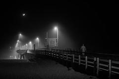 _DSC4974-Edit (Roger Wojahn) Tags: night street blackandwhite bnw venice pier nikon d750 5814