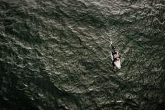 surfer dude (demandaj) Tags: ocean hb surf surfing surfer lxc 35mm nikon alone lonely