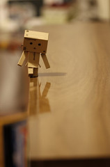 So we walk alone (gauche_photo) Tags: danbo danboard home toy lonely