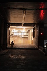image (Kathi Huidobro) Tags: undergroundcarpark industrial architecture carpark nightlife afterdark london redlight light lighting lights parking southlondon ncp urban