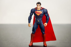 15 - June - 2013:  Superman (Ash if) Tags: blue red june toy actionfigure dc sony superman bolton superhero a77 manofsteel 2013