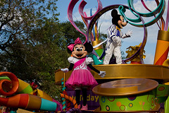 IMG_5505 (onnawufei) Tags: parade disneyworld mickeymouse minniemouse wdw waltdisneyworld magickingdom