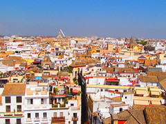 Sevilla (twiga_swala) Tags: old panorama town sevilla andaluca spain view rooftops centro seville aussicht andalusia altstadt espagne giralda vue spanien ausblick histrico siviglia