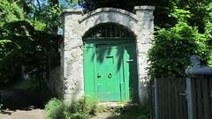 Wessling, Bavaria, Germany (catarina.berg) Tags: park door green stones entrance wessling
