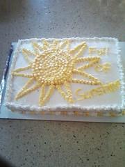 Sun Cake by Ruth, Marion, IA, www.birthdaycakes4free.com