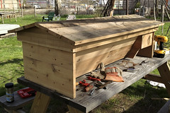 Langstroth conversion Top Bar Beehive
