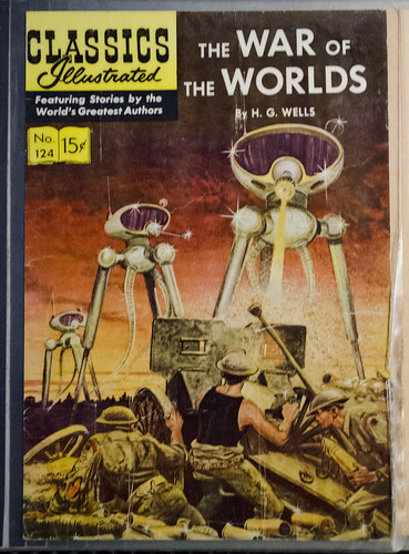 War of the Worlds - Classic Comics - Space A Journey to Our Future - Museum of the Rockies - 2013-07-08, From FlickrPhotos