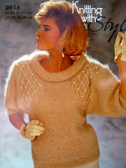 Knitstyle_16 (Homair) Tags: vintage sweater fuzzy fluffy mohair knitwithstyle