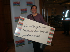 Nottingham Rally for Education (nasuwt_union) Tags: nasuwt education conference woman man black white speaking stand hall meal drinks happy members workshop pesident birmingham banner meeting stage positive portrait guidance crowd teachers leaders lectures students awards executive staff show tell help advice support listen adults people england scotland northern ireland wales strong women men insturction health safetly wellbeing classroom school college university table voting union best brilliant workplace seminar