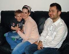 Laura & Ben with son Jacob - March 2012