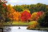 Autumn (ElenaK@Chicago) Tags: autumn nature boat colorful kayak canoe schaumburg forestpreserve redtree bussewoods nikond700 nikon28300mm blinkagain