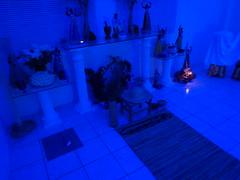 Ambiente preparado para o Tratamento Espiritual