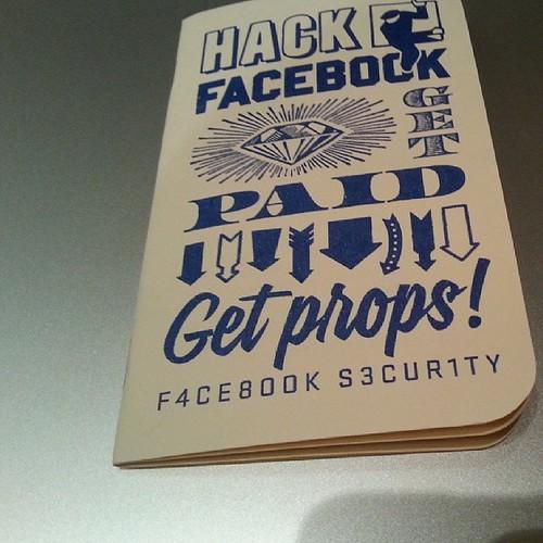 ada sesiapa nak buat duit dengan hack #facebook ? #HiTB2013KUL #Hacker