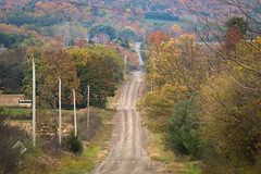 Union Corners Road (-dangler) Tags: autumn ny newyork dan nature rural tuscarora dirtroad backroads nys dangler mtmorris dandangler sonyeastateforest unioncornersroad
