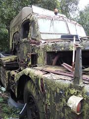 THORNYCROFT ANTAR (TruckerPat) Tags: scrapyard antar thornycroft oldthornycroft oldarmylorry