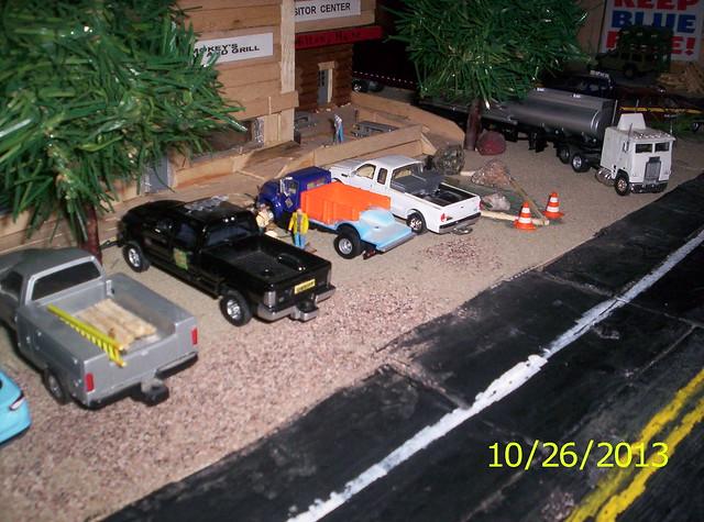 truck toy model cab pickup dodge sheriff ram 187 2500 dioramas diecast 164scale diecastdioramas hoscalefigures