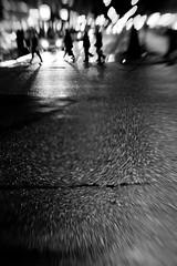 Across the asphalt (PJRose) Tags: light night lensbaby stockholm sdermalm low muse d700