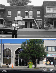 683 - 693 Jean-Talon Ouest (1967 & 2013) (SHPEHS) Tags: 1967 1960s beforeandafter parkextension builtheritage jeantalonouest