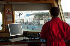Back to the Bask (berik) Tags: bridge marine offshore vessel gas captain oil centralasia kazakhstan barge caspiansea казахстан baskunchak қазақстан caspianeva caspianservicesinc