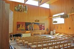 Liding Chapel IV (hansn) Tags: wood architecture modern wooden sweden stockholm contemporary chapel architect sverige liding kapell arkitektur tr arkitekt carlnyrn carlnyren trpriset vision:text=0581 vision:sunset=0594 vision:outdoor=0666 trapriset
