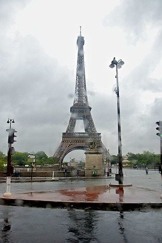 Eiffel in the Rain!