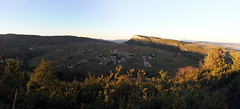 Le Grand site de Solutré - Vergisson (Chemose) Tags: autumn automne burgundy bourgogne vignoble vigne vinyard solutré vergisson mâconnais