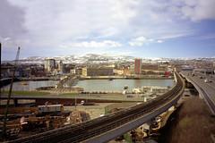 Belfast - Queen's Quay - M4 and Railway 02