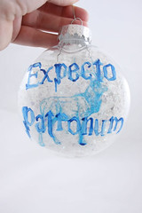 Expecto Patronum Ornament (tapestrymlp) Tags: stag harrypotter ornament patronus expecto patronum