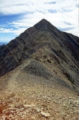 Nebo Summit (α RAINYNEPTUNUS ω) Tags: summer mountain mountains fall film analog utah hike alpine summit analogphotography nebo mountnebo filmphotography nebosummit
