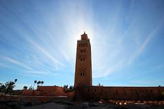 La Koutoubia (gianluxa78) Tags: northafrica morocco marocco marrakech koutoubia moschea suq lakoutoubia murrakus moscheadellakoutoubia