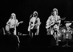 America Concert, 1975 (Hunter-Desportes) Tags: blackandwhite music film sc rock 35mm concert university folk south columbia carolina coliseum