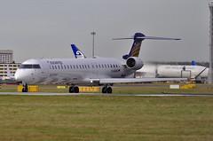 D-ACNG / Bombardier CRJ-900LR / 15245 / Eurowings Luftverkehrs (A.J. Carroll) Tags: london heathrow lhr crj bombardier staralliance crj900 egll 15245 cr9 27l crj9 dacng eurowingsluftverkehrs