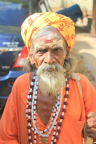Portrait of Sadhu at Thiruvannamalai - #03112013-IMG_6082a