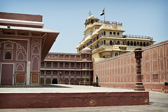 Jaipur Palace Courtyard (William J H Leonard) Tags: india building architecture buildings asian asia indian palace jaipur rajasthan citypalace southasia southasian rajasthani indianarchitecture asianarchitecture jaipurcitypalace jaipurpalace