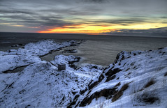 Kvalnesset 2 (Eskil Persen) Tags: winter sunset norway lofoten hdr vry