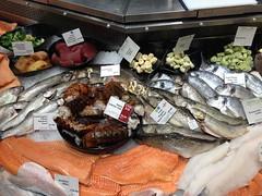 Waitrose food hall (tedesco57) Tags: fish rainbow market maine salmon lobster seafood organic trout tuna tails prawn