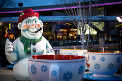 (MonkeyWrenchGuy) Tags: christmas colour liverpool canon 50mm snowman ride mark iii 5d