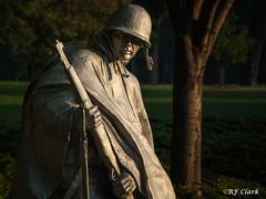 Korean War Memorial (RF Clark) Tags: statue washingtondc morninglight memorial nikond50 koreanwarmemorial usarmy koreanwar