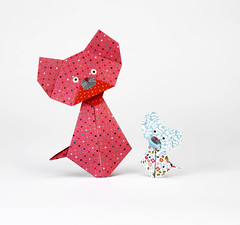 Origami création - Didier Boursin - Chat