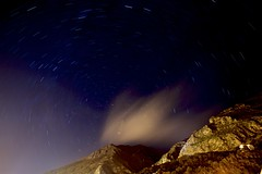 Chefchaouen (clmenceLiu ) Tags: longexposure mountains night morocco atlas chefchaoun nikond800