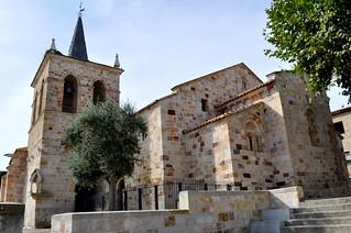 Iglesia románica de San Cipriano, Zamora.