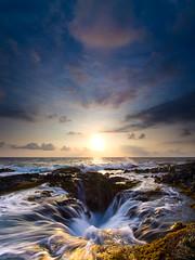 Re-Visit (FromHereOnIn.com) Tags: ocean light sunset sky sun seascape clouds landscape hawaii movement hole shoreline scenic slowshutter vista coastline bigisland reef slowmotion kailuakona fromhereonin christopherjohnson keaholepoint vision:sunset=0861 vision:ocean=052 vision:sky=099 vision:outdoor=0973 vision:clouds=0959