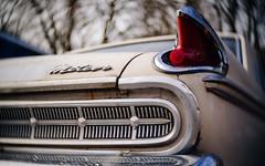 The Meteor (John Westrock) Tags: seattle classic ford car automobile bokeh trunk washingtonstate 169 meteor taillight toylens olympusomdem5 rainbowimaging25mmf14 johnwestrock
