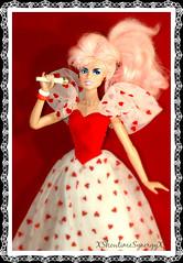 Rockin' Romance (XShowtimeSynergyX) Tags: doll barbie valentine jem hasbro jemandtheholograms integritytoys lovinyou whoishekissing